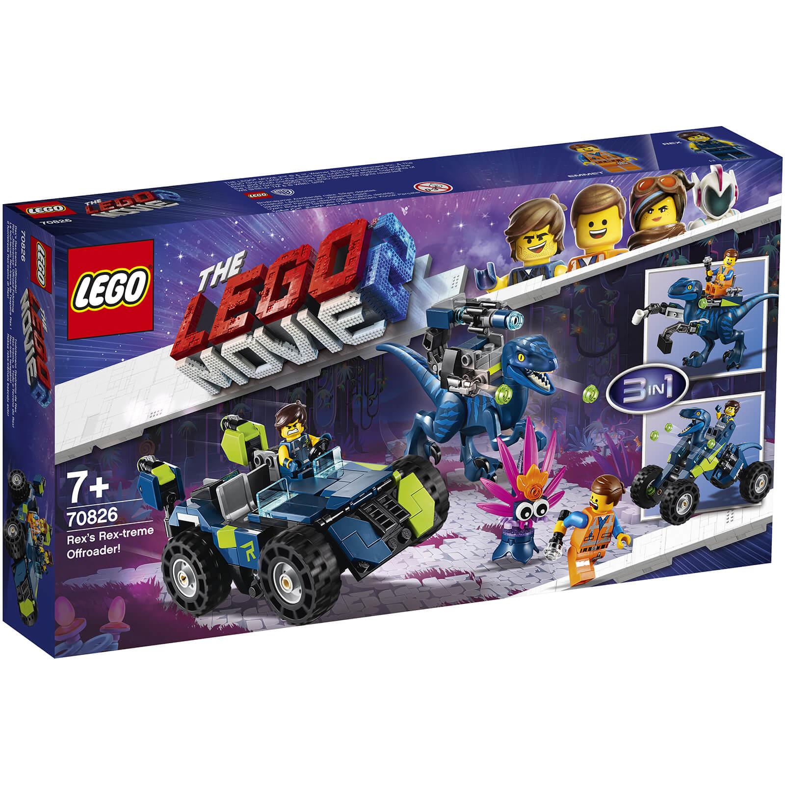 Lego Movie 2: Rex's Rex-treme Offroader! (70826)