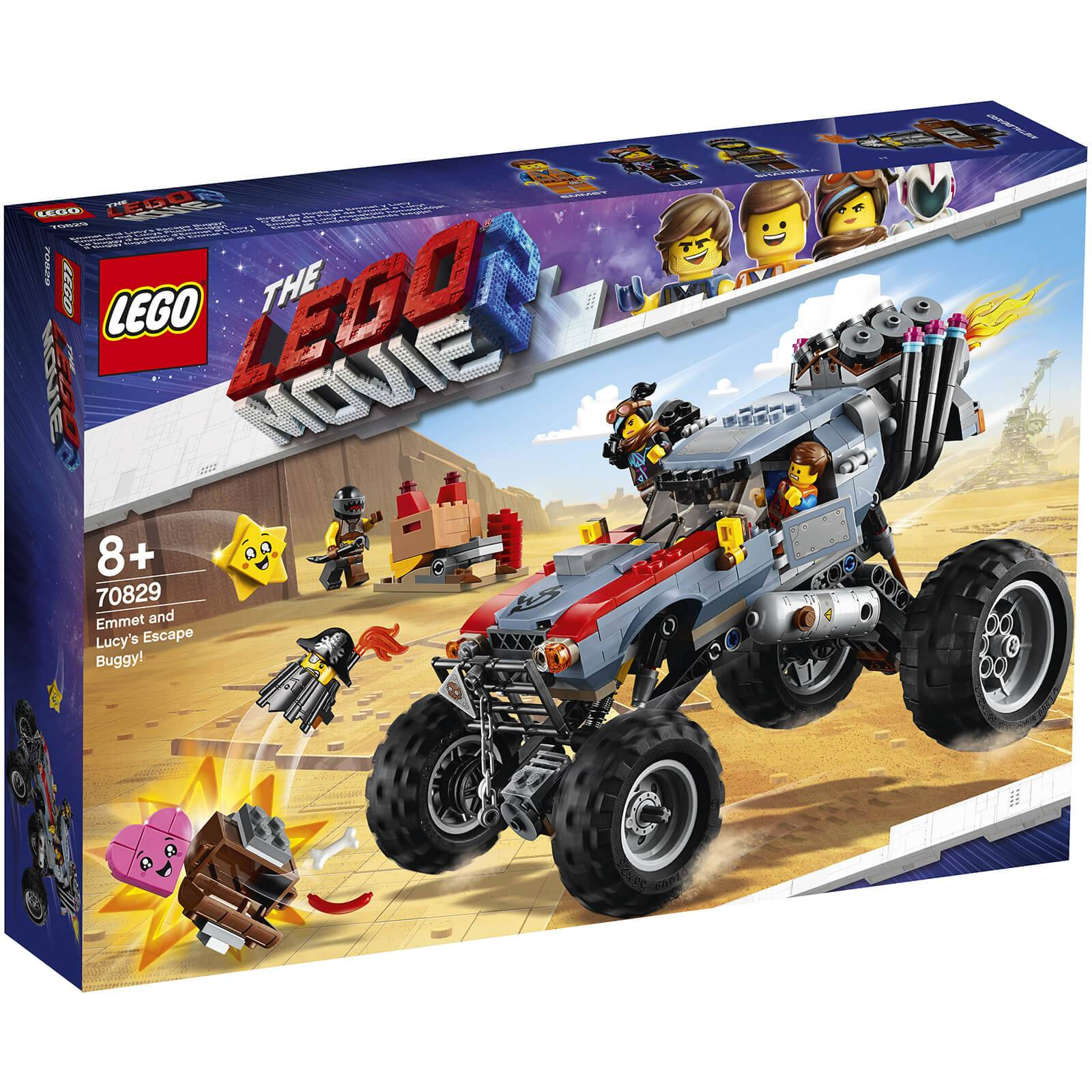 Lego Movie 2: Emmet and Lucy's Escape Buggy! (70829)