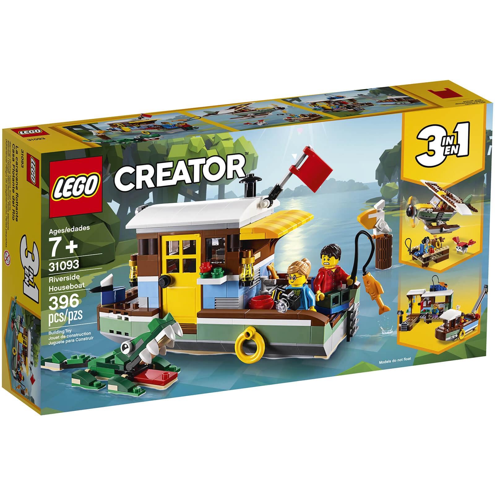 Lego Creator: Riverside Houseboat (31093)