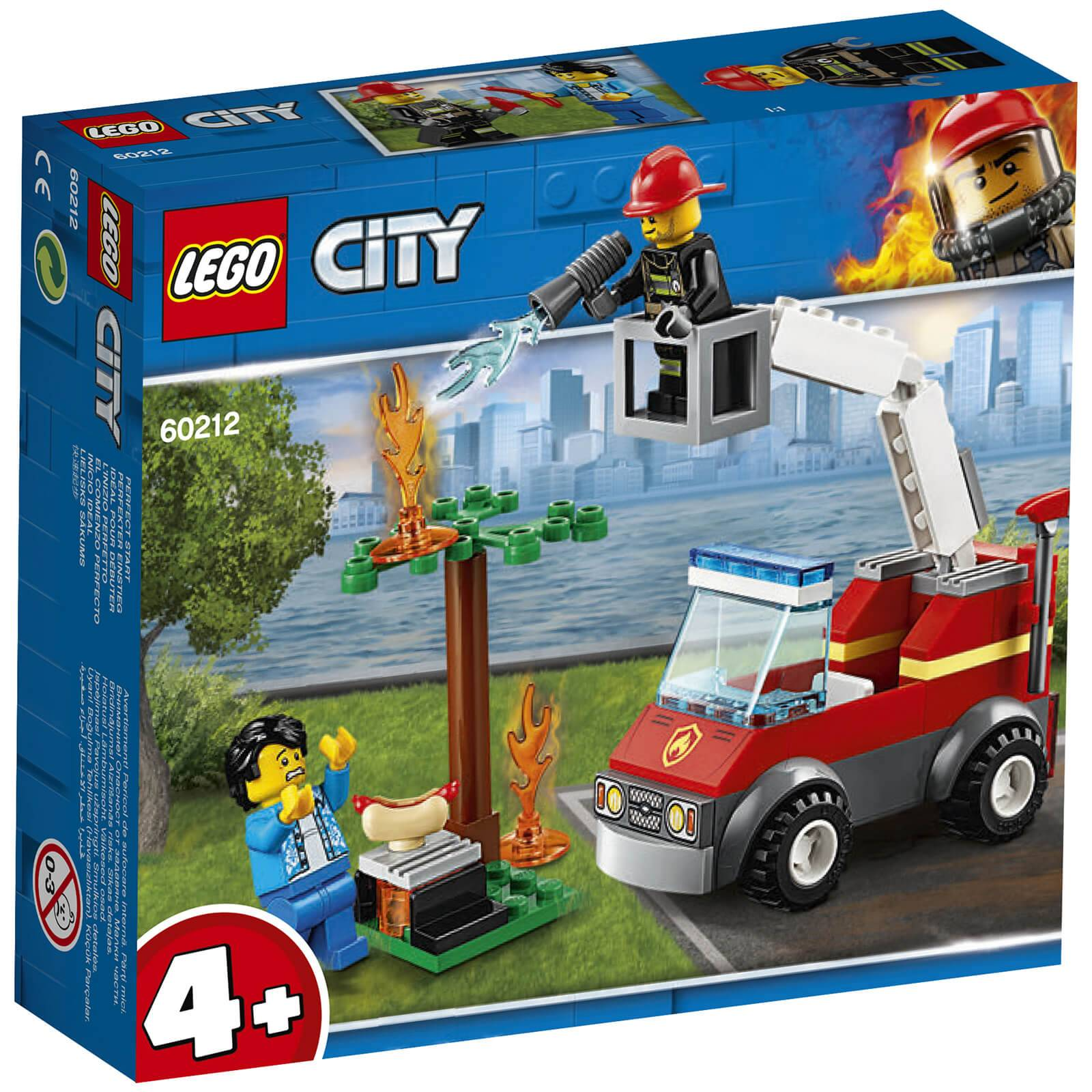 Lego City Fire: Barbecue Burn Out (60212)