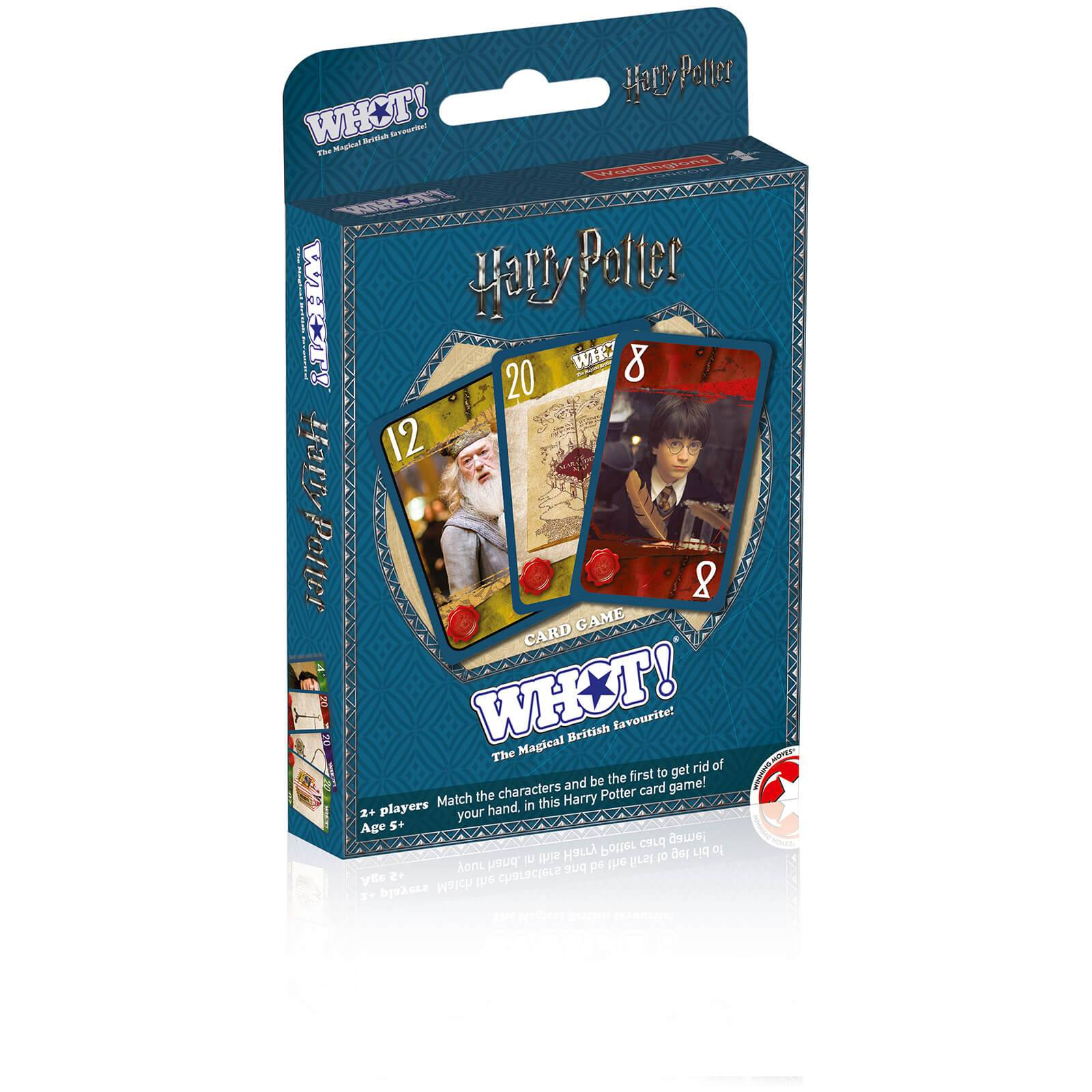 Winning Moves Top Card Tuck Box - Harry Potter Whot!