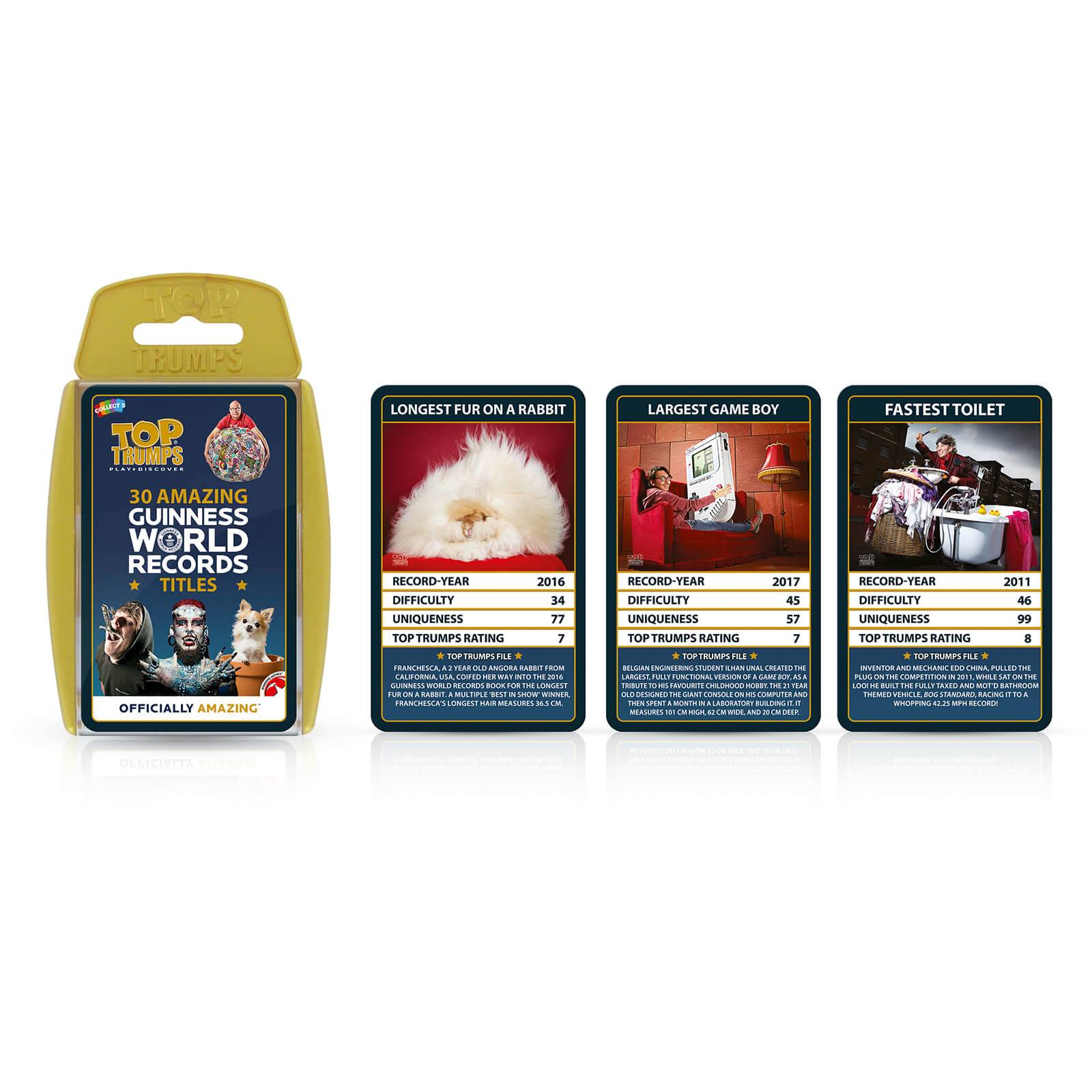 Winning Moves Top Trumps Specials - Guiness World Records