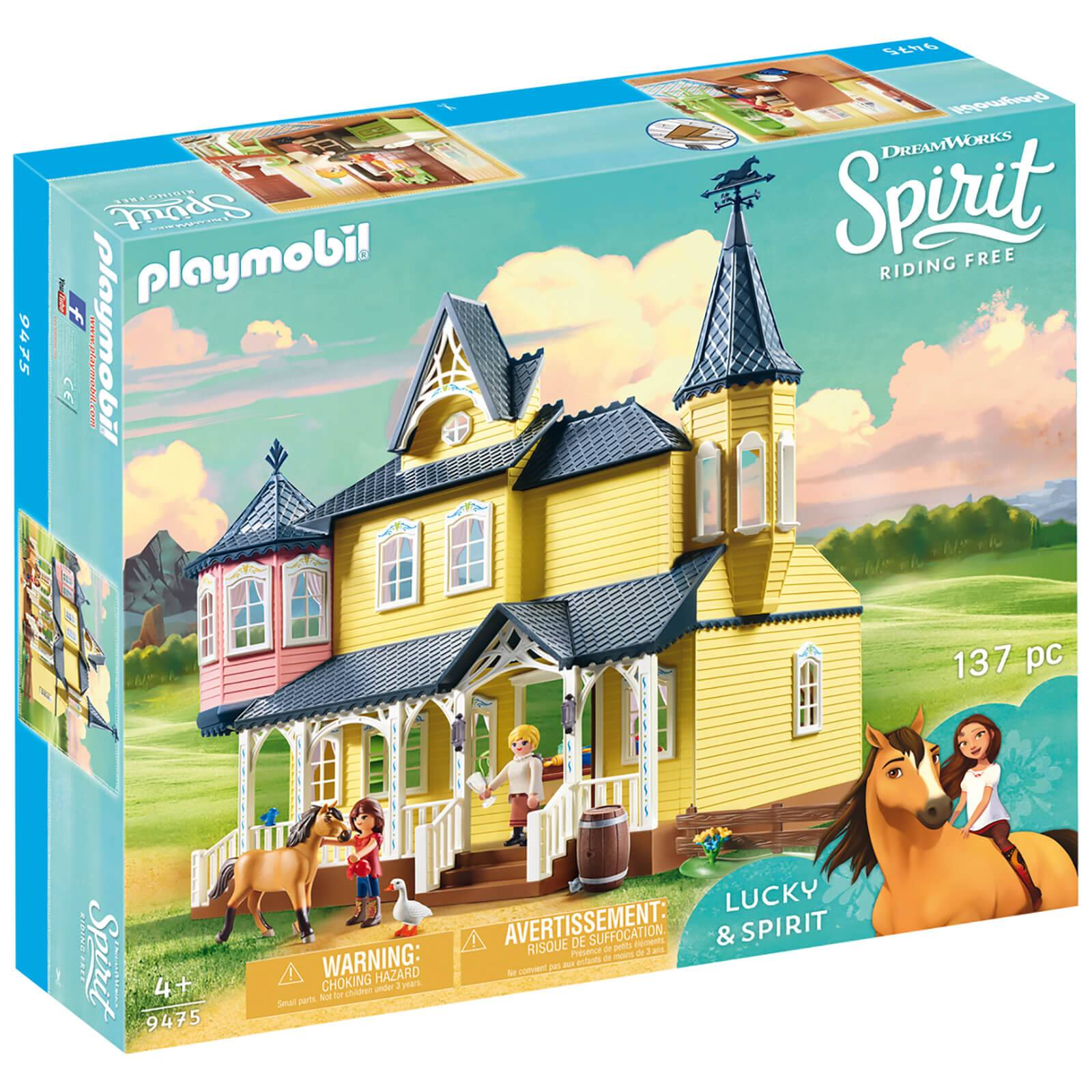 Playmobil DreamWorks Spirit Lucky's Happy Home (9475)