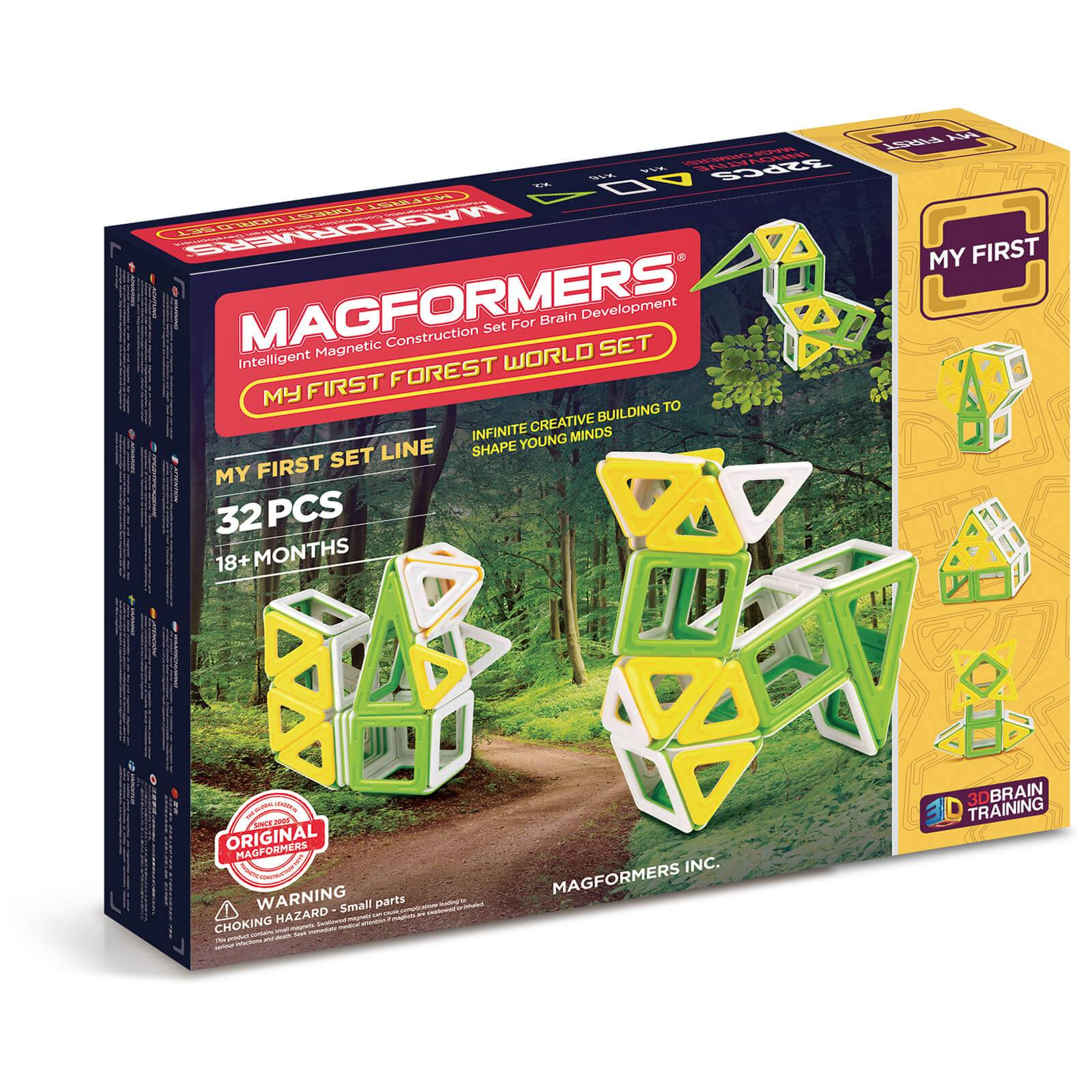 Magformers Magformer My First Forest World Set - 32 Pieces