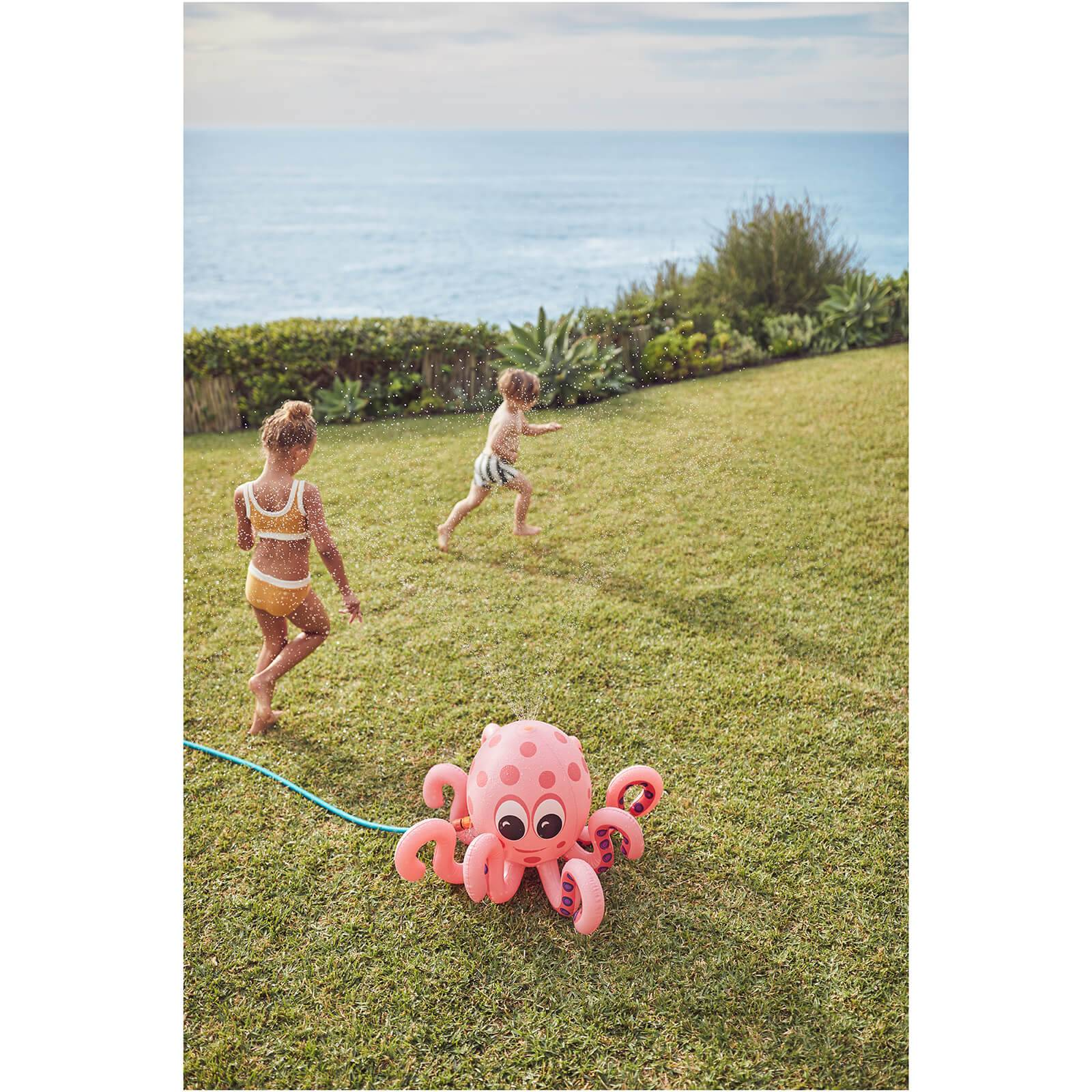 Sunnylife Inflatable Octopus Sprinkler - Pink