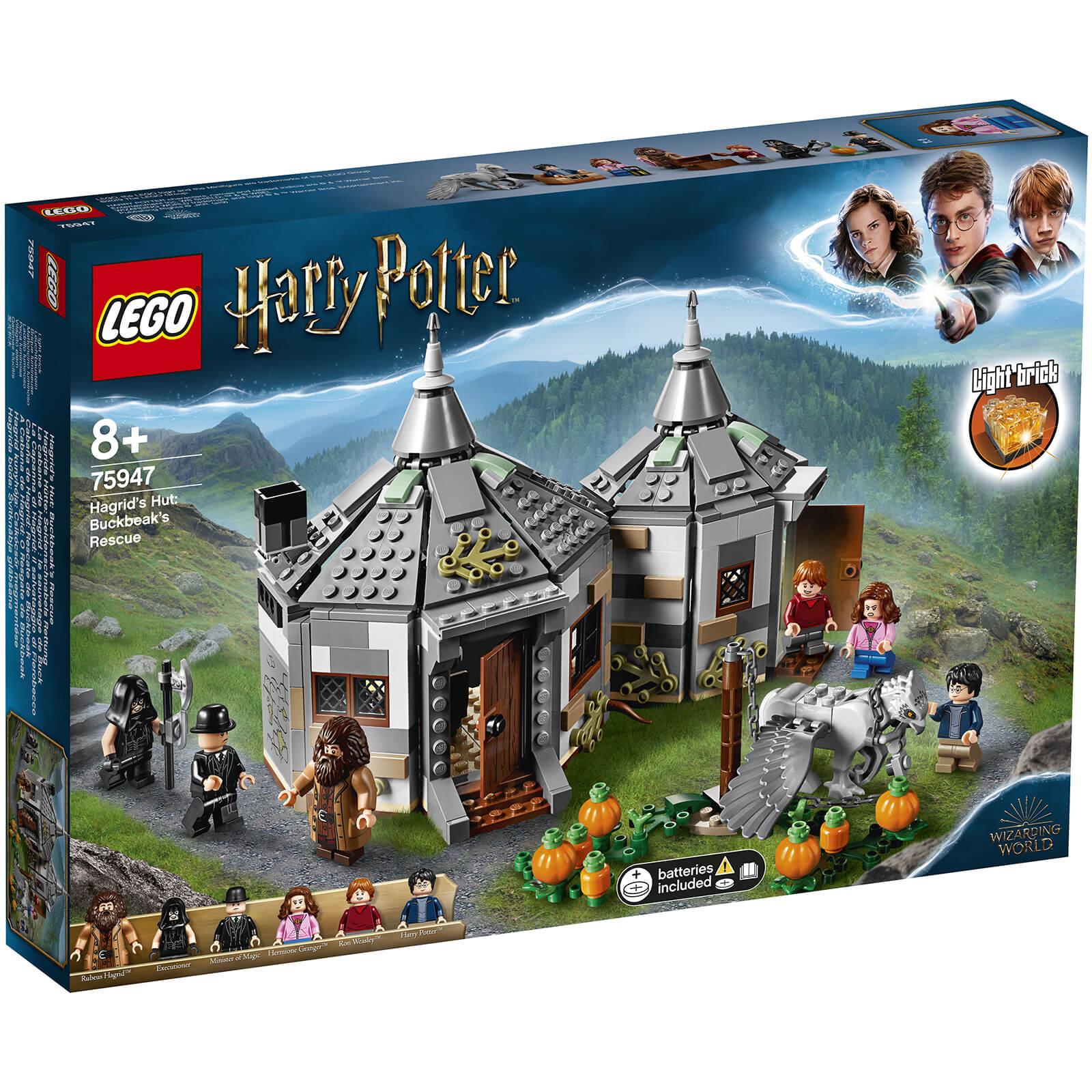 Lego Harry Potter: Hagrid's Hut Buckbeak's Rescue (75947)