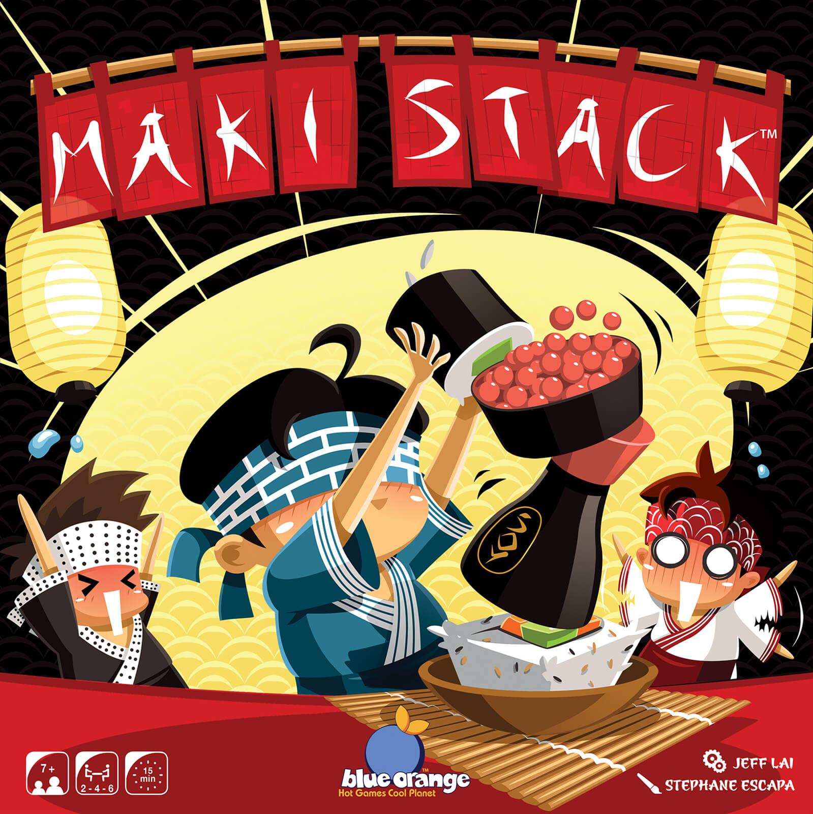 Asmodee Maki Stack