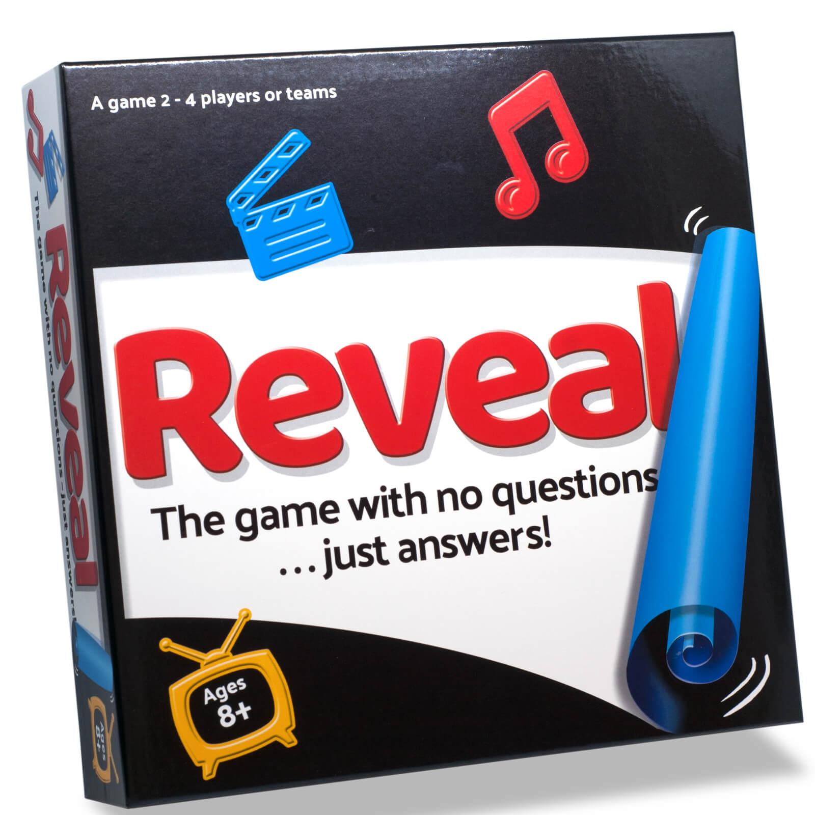 Paul Lamond Games Reveal Game