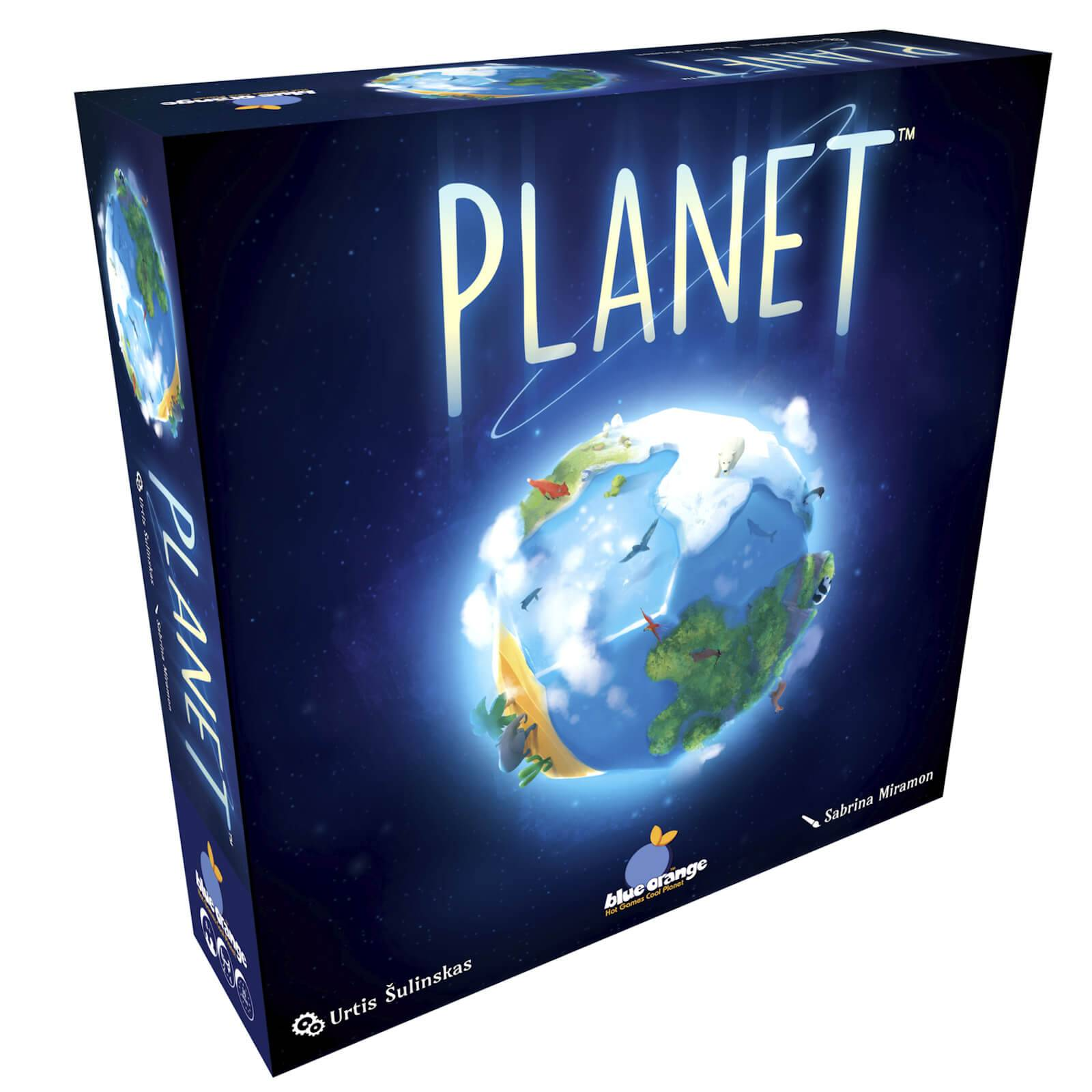 Coiled Spring Games Planet UK Edition Board Game