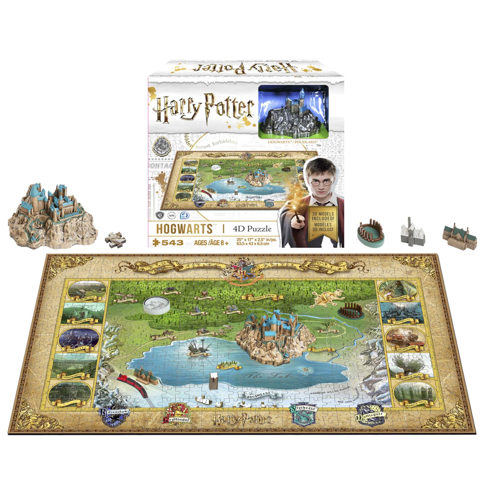 4D Cityscape Harry Potter Mini Hogwarts Puzzle (543 Pieces)