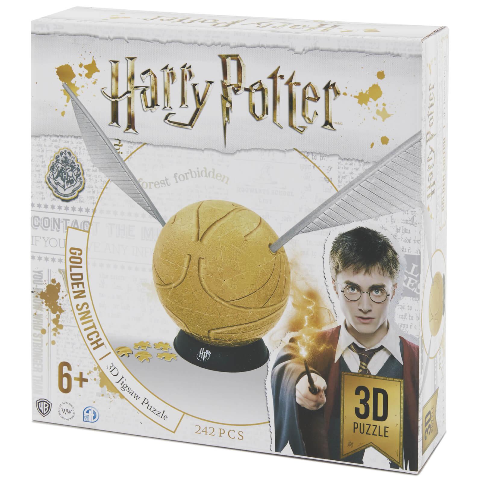4D Cityscape Harry Potter 6 Inch Golden Snitch 3D Puzzle (242 Pieces)