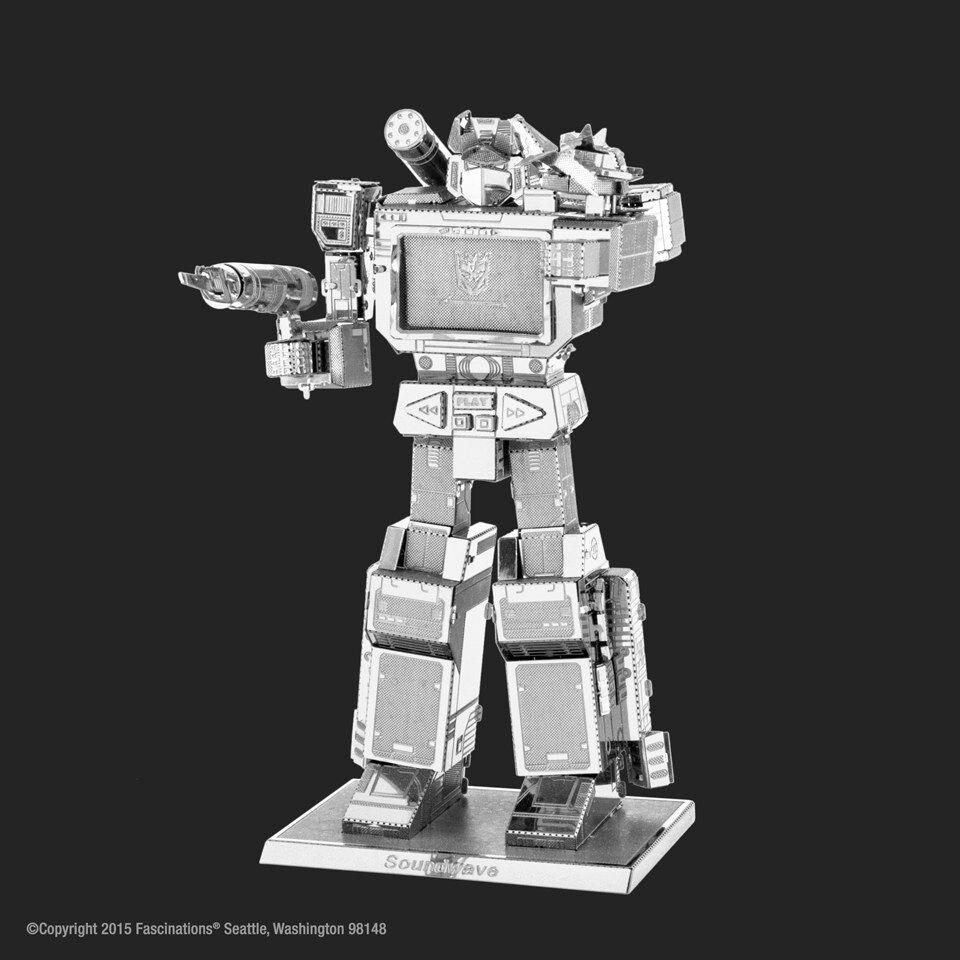 Professor Puzzle Transformers Sound Wave Construction Kit