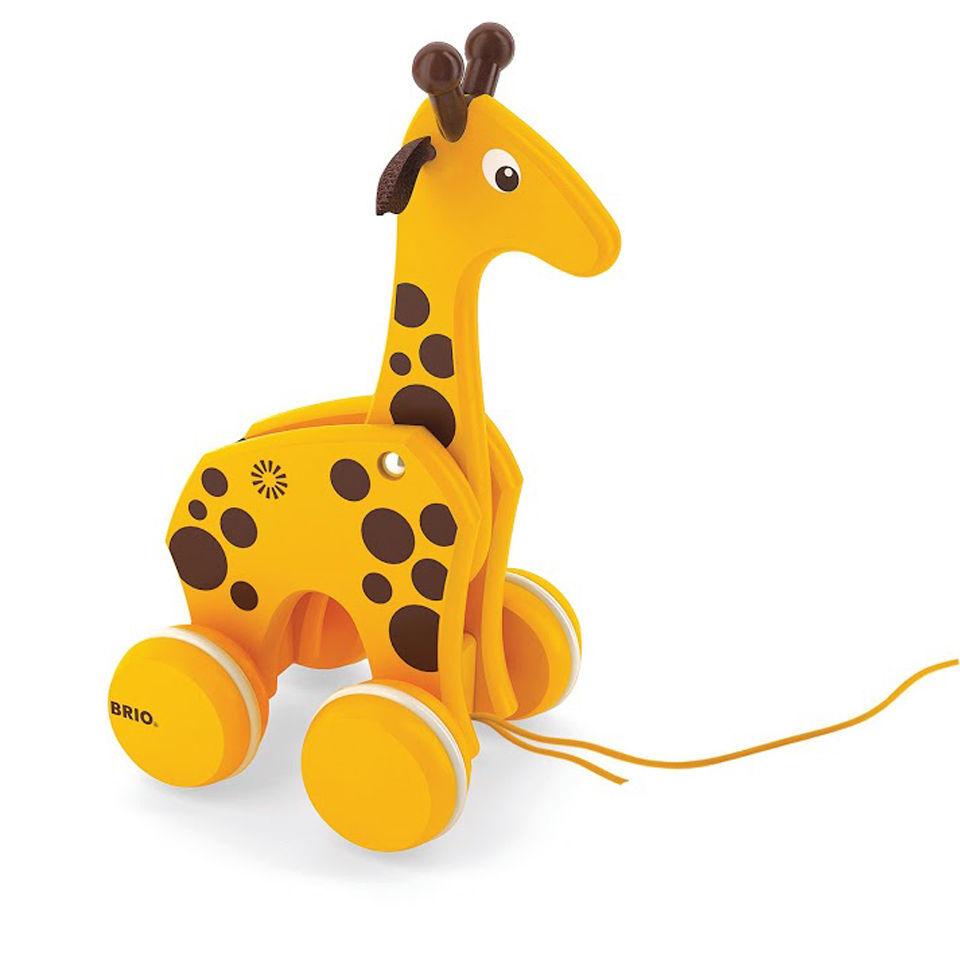 Brio Pull Along Giraffe