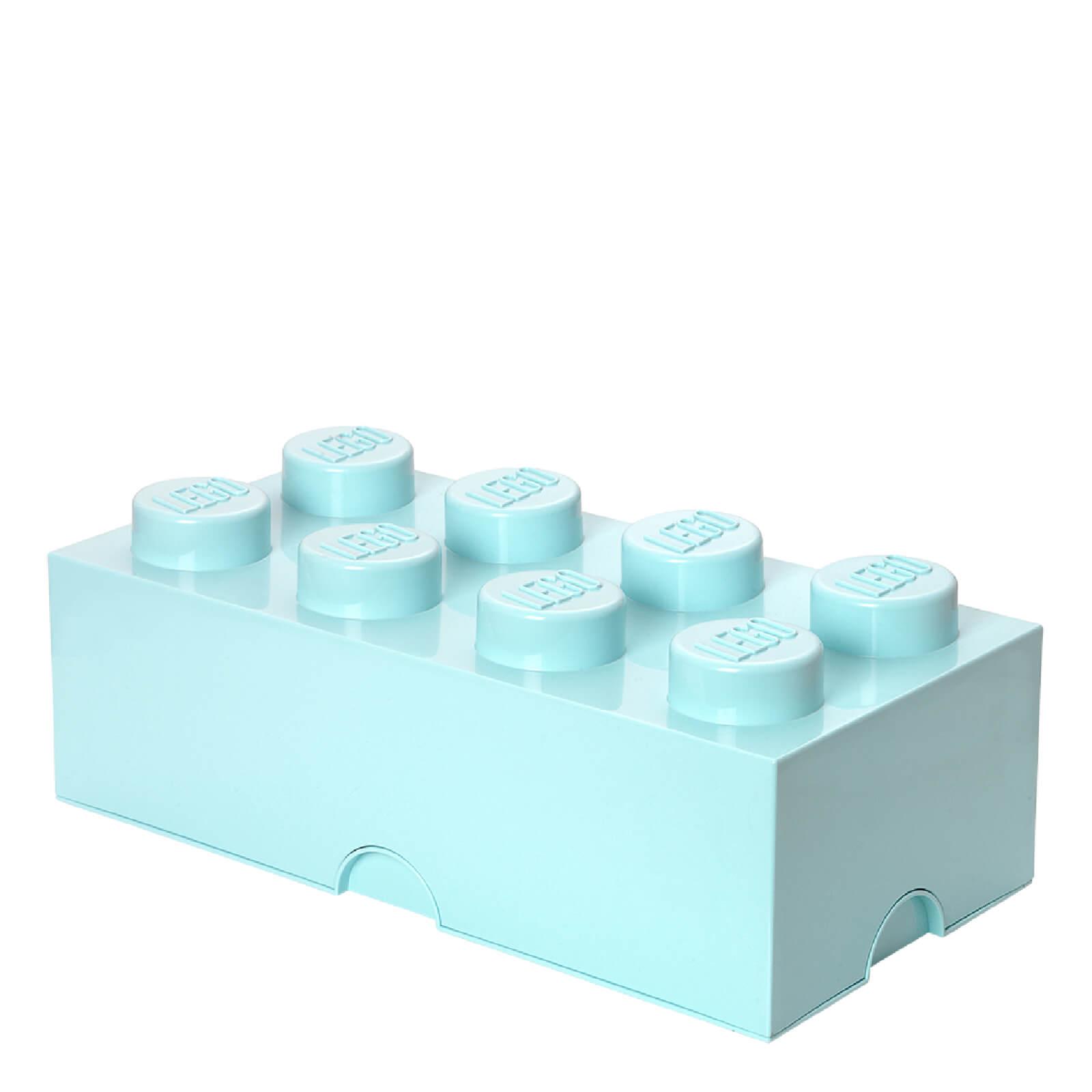 Lego Storage Brick 8 - Aqua