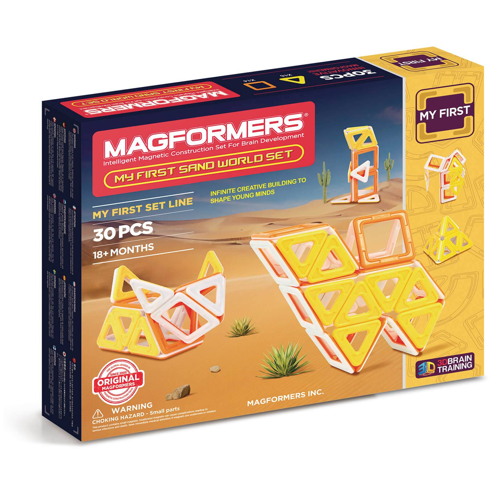 Magformers My First Sand World Set - 30 Pieces