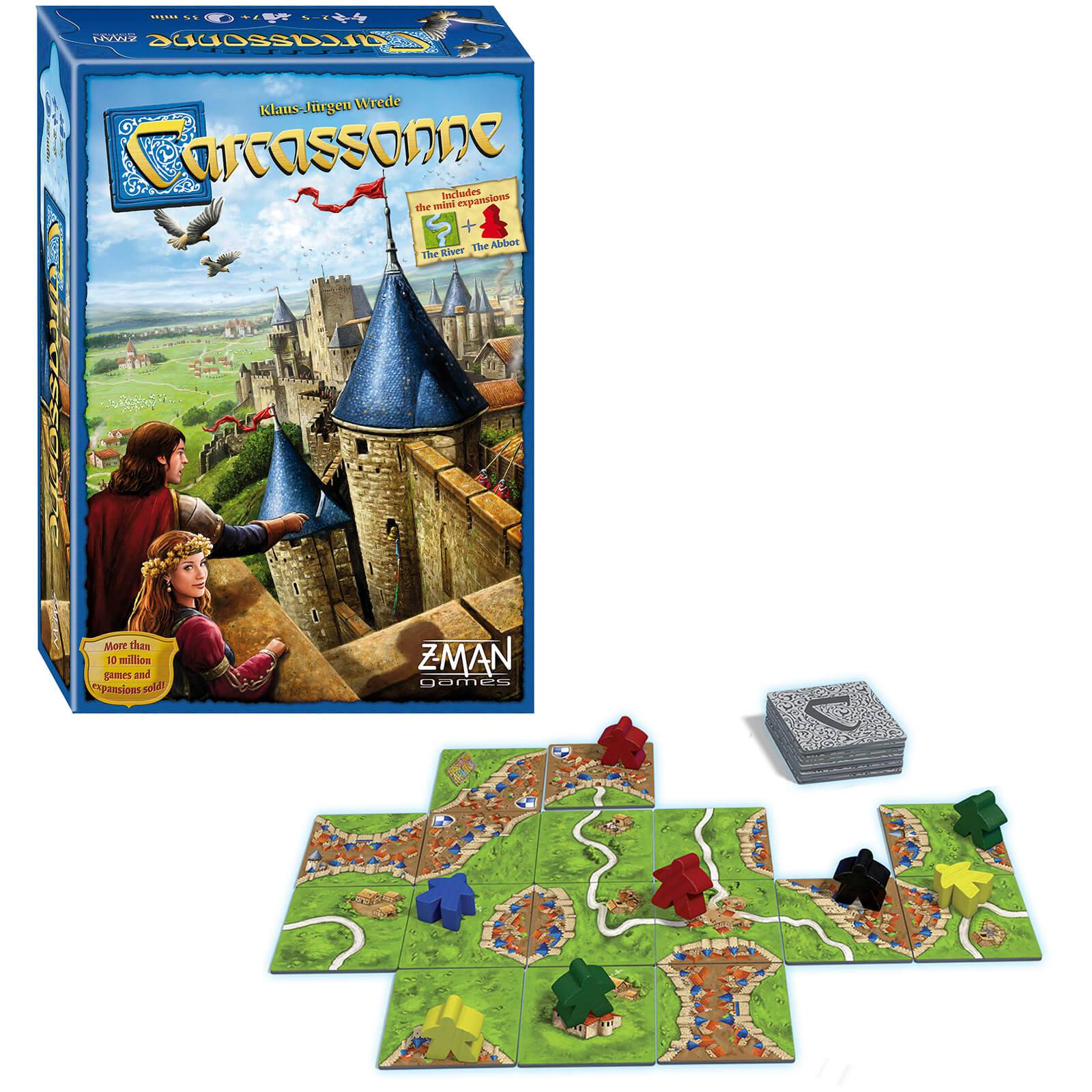 Asmodee Carcassonne Strategy Game (2015 New Edition)