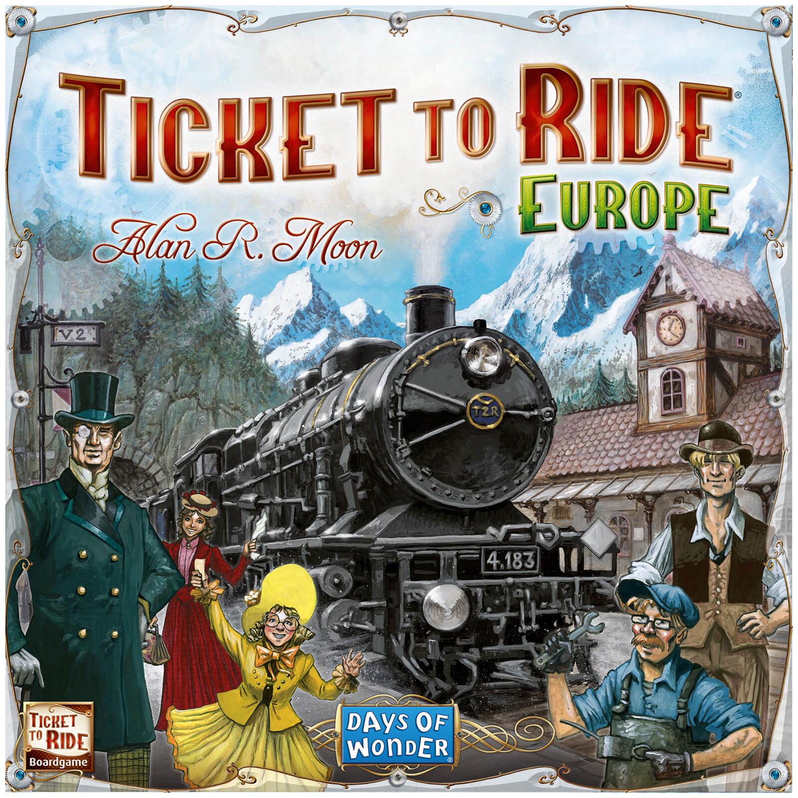 Asmodee Ticket to Ride Europe Game