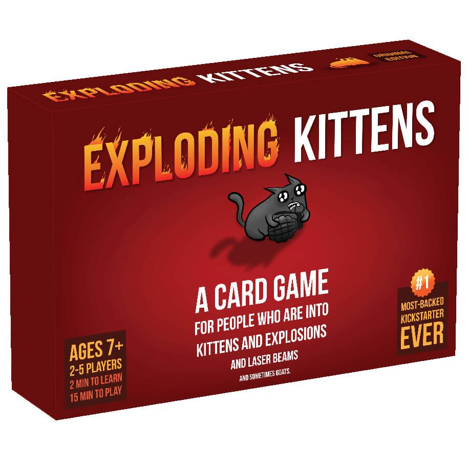 Asmodee Exploding Kittens Card Game Original Edition