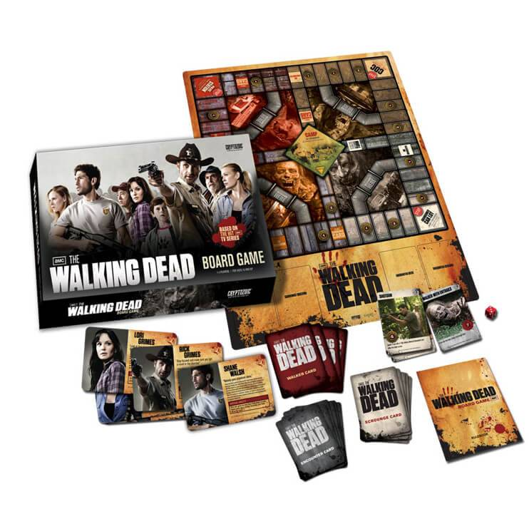 Asmodee The Walking Dead Board Game (TV Version)