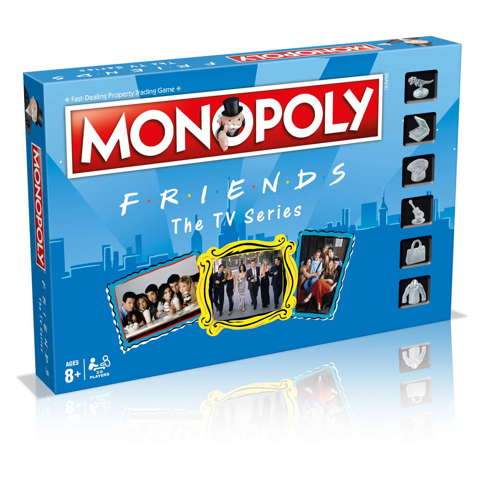 Hasbro Monopoly Board Game - Friends Edition