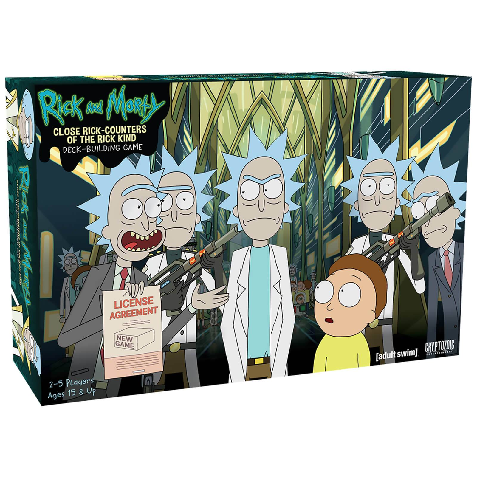 Cryptozoic Close Rick Counters of the Rick Kind Deck Buildin Rick and Morty