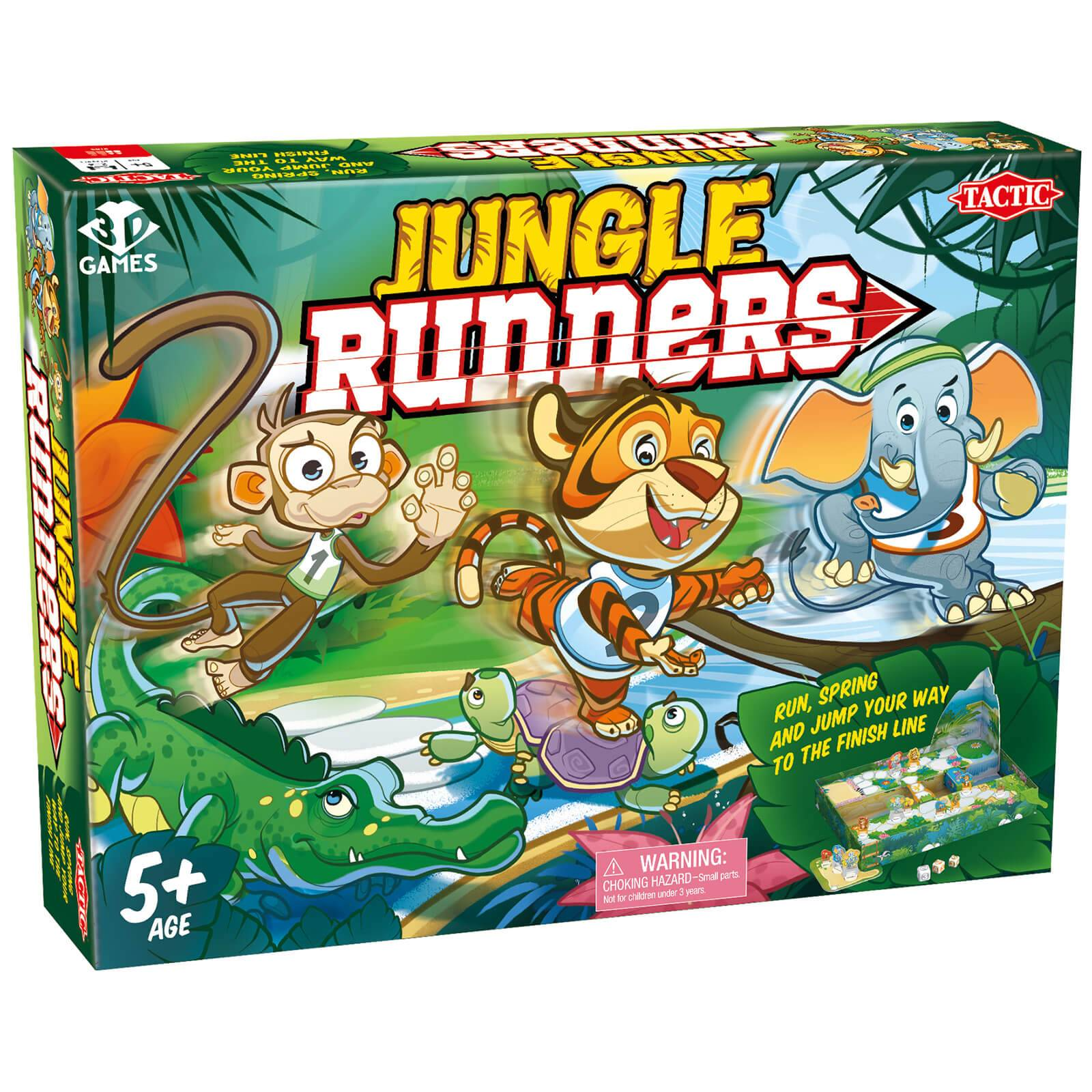 Tactic Games Jungle Runners Game
