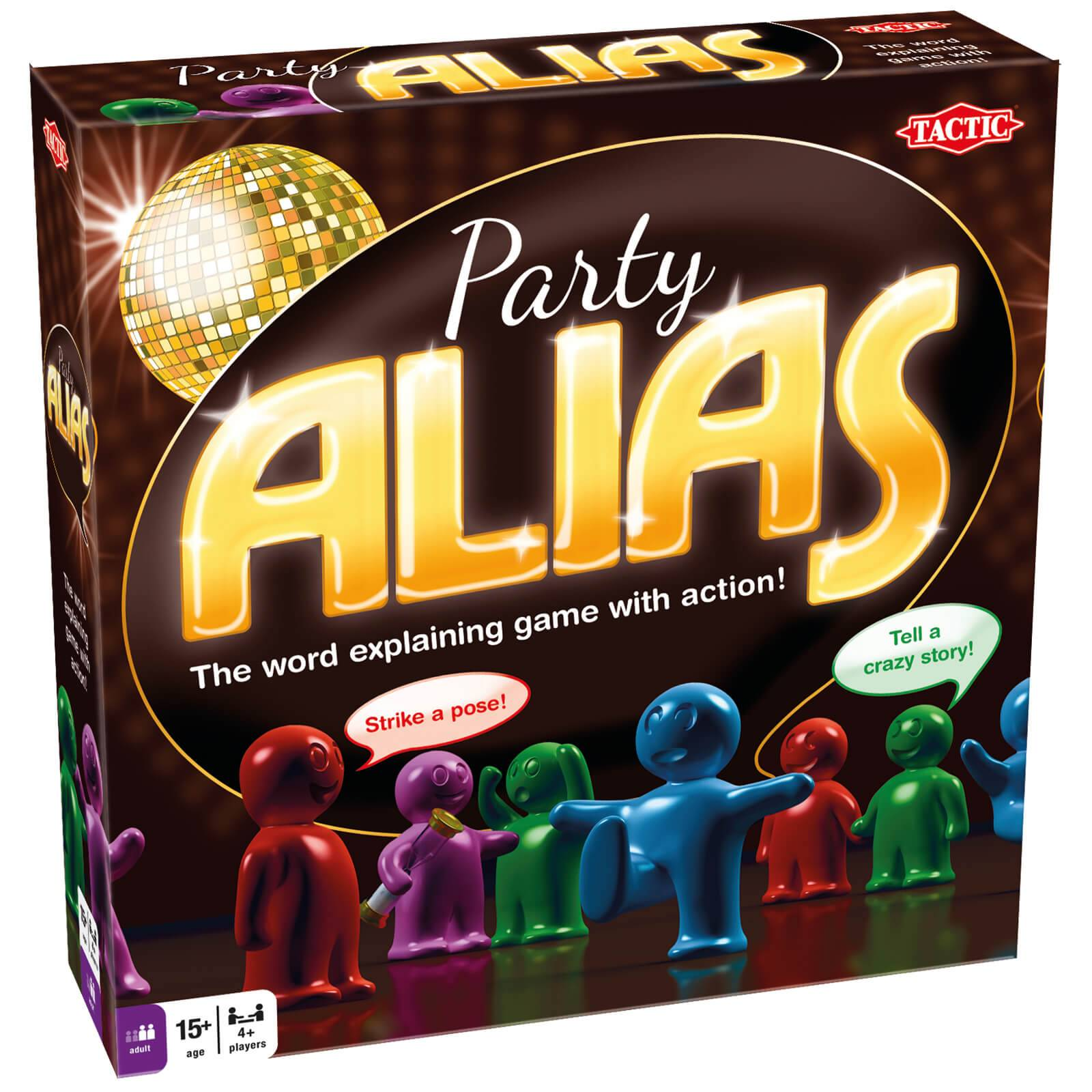 Tactic Games Party Alias Game