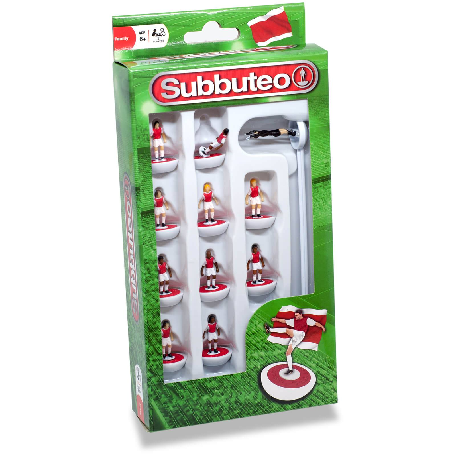 Paul Lamond Games Subbuteo Red/White Team