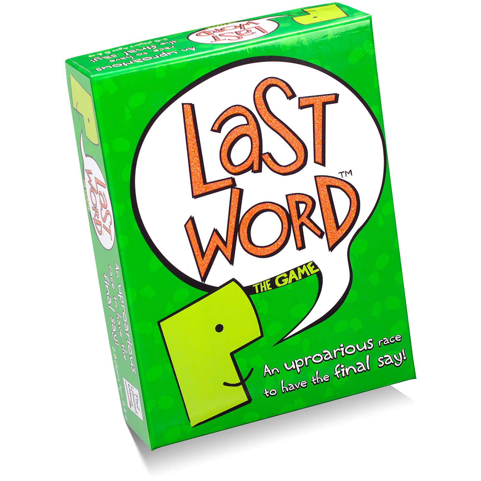 Paul Lamond Games Last Word