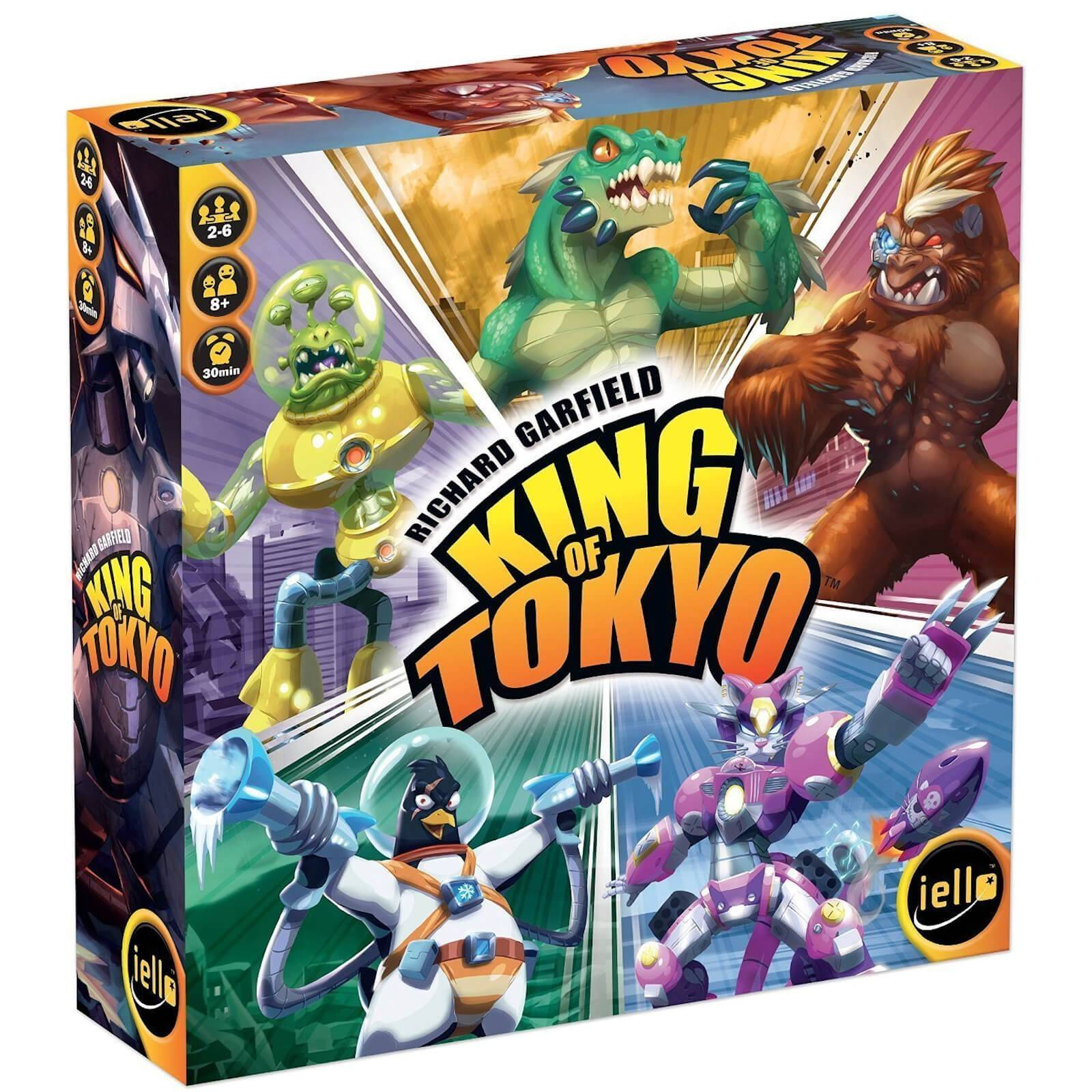 Coiled Spring Games King of Tokyo Board Game