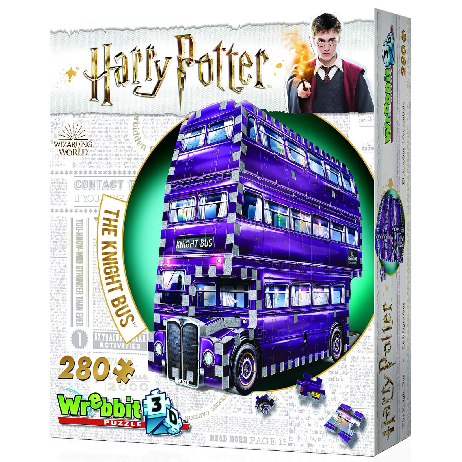 Wrebbit Harry Potter Knight Bus 3D Puzzle (280 Pieces)