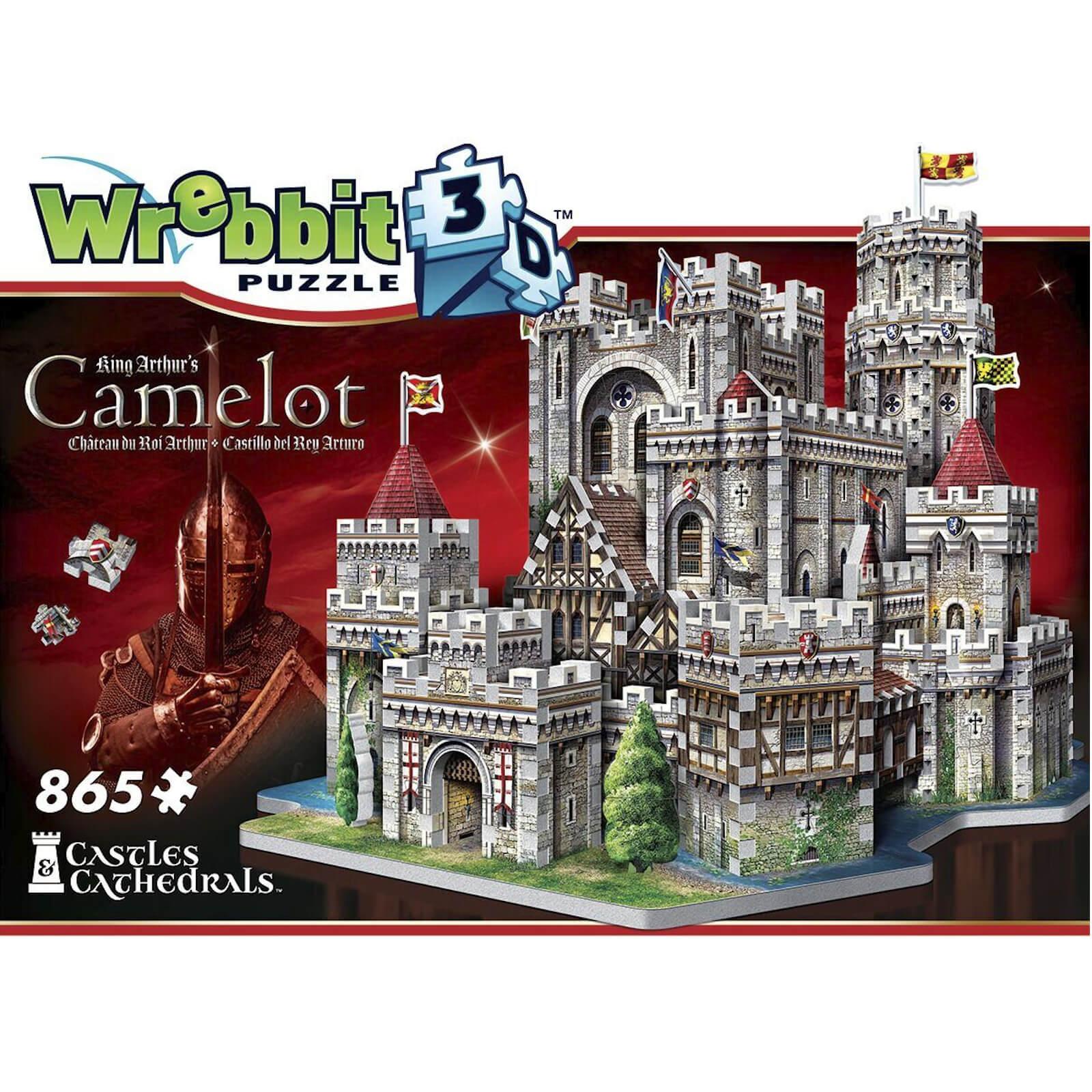 Wrebbit Camelot Castle 3D Puzzle (865 Pieces)