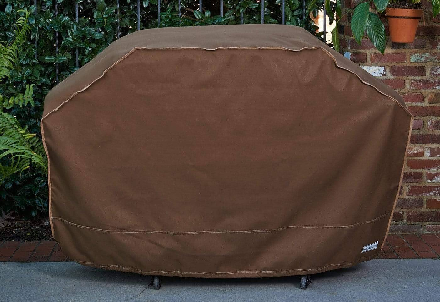 Patio Armor Reversible Grill Cover - 68 Inch / Chocolate