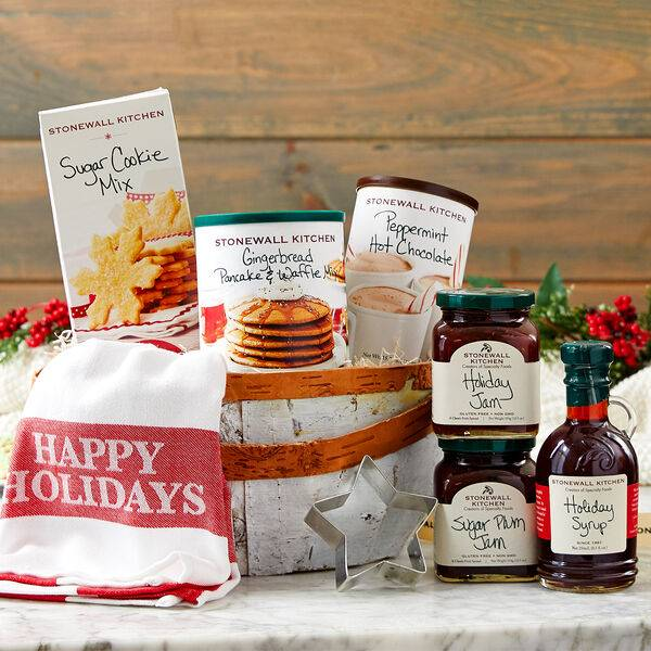 Stonewall Kitchen Holiday Flavors Gift Basket