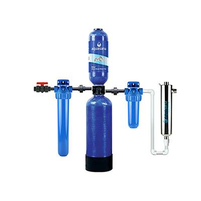 Aquasana Rhino Whole House Water Filter System For Home With UV Filter, 10 Year 1,000,000 Gallon (EQ-1000) Aquasana