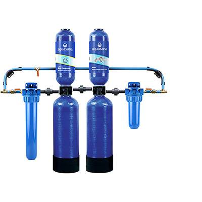 Aquasana Salt-Free Conditioner And Whole House Water Filter System For Home Pro 6 Year 600,000 Gallon (EQ-600) Aquasana