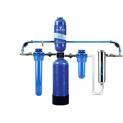 Aquasana Rhino Whole House Water Filter System For Home With UV Filter, 6 Year 600,000 Gallon (EQ-600) Aquasana