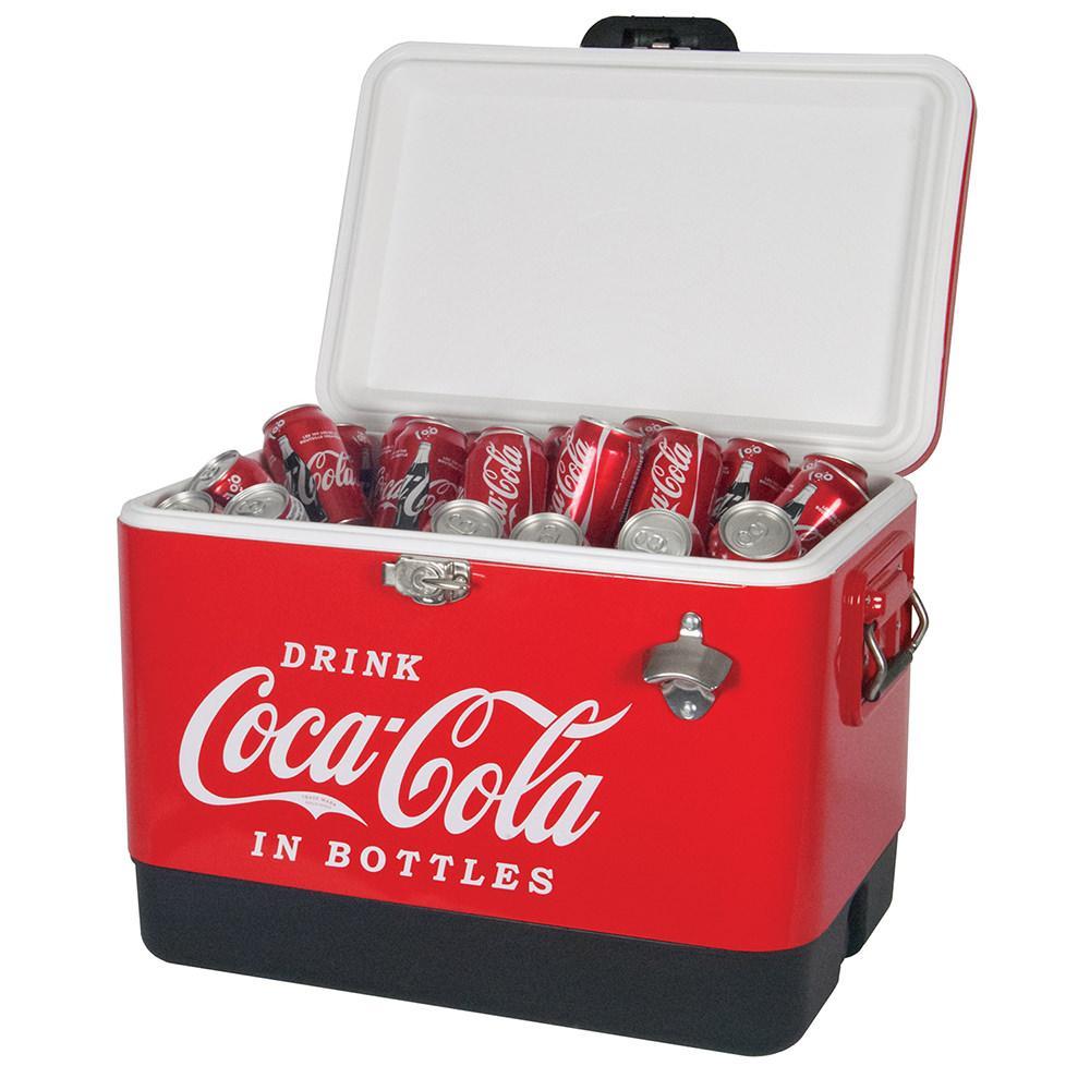 Koolatron Corp Coca Cola Classic Ice Chest, 54 Qt.