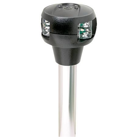 Attwood Marine Attwood Pole-Mounted LED Combination Sidelight For Straight Base