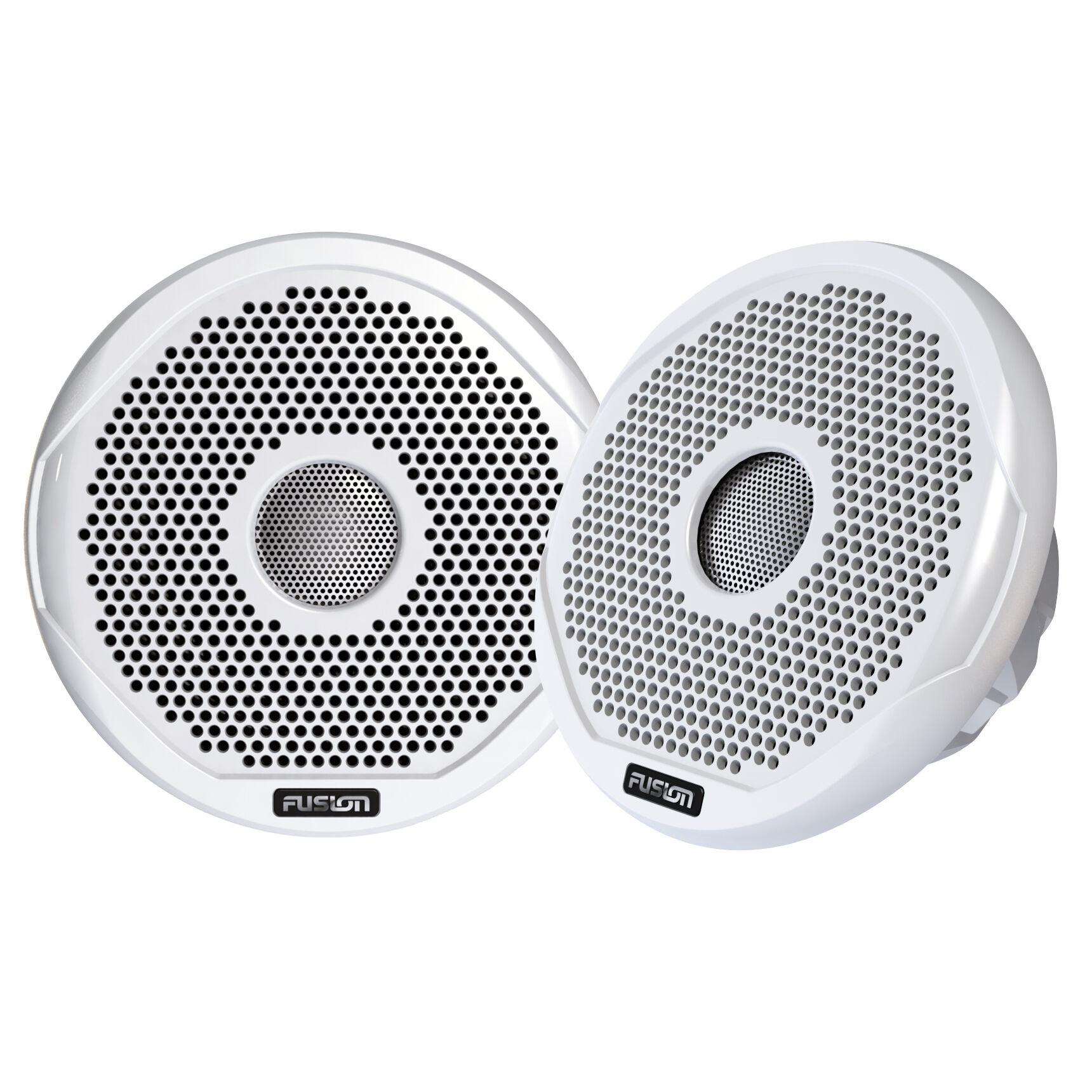 "Fusion Electronics Fusion 4"" Round 2-Way IPX65 Marine Speakers, Pair"