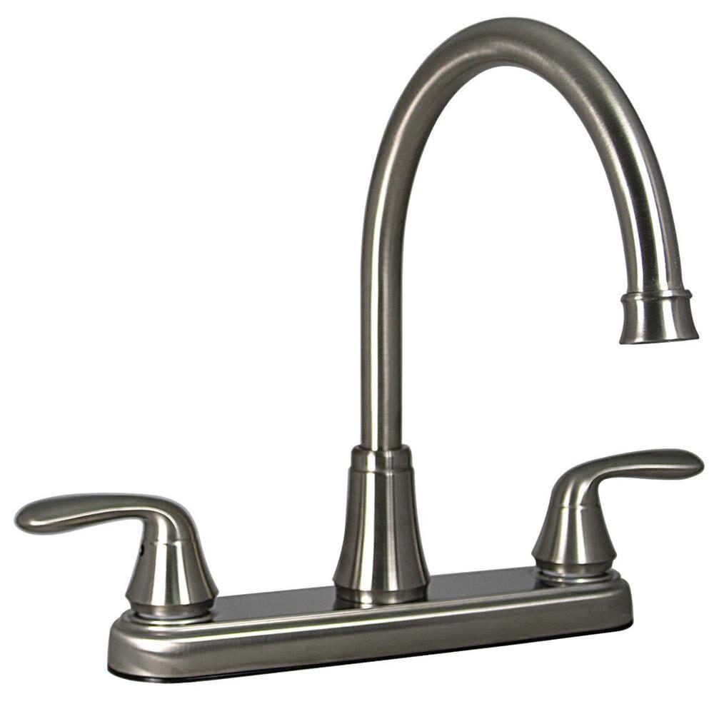 Valterra Kitchen 2-Handle Faucet, Brushed Nickel Finish