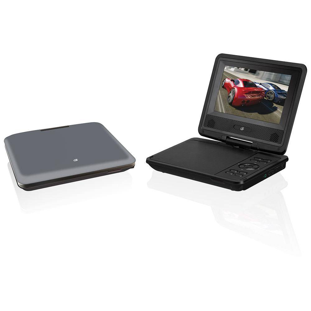 "Dpi Inc 7"" Swivel Screen Portable DVD Player for Home and Car"