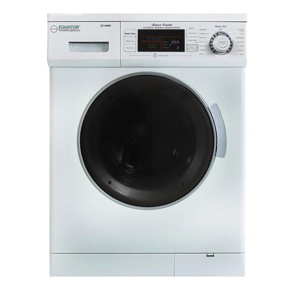 Equator Advanced Appliances Equator Super Combo Washer/Dryer, White, 2019 Model