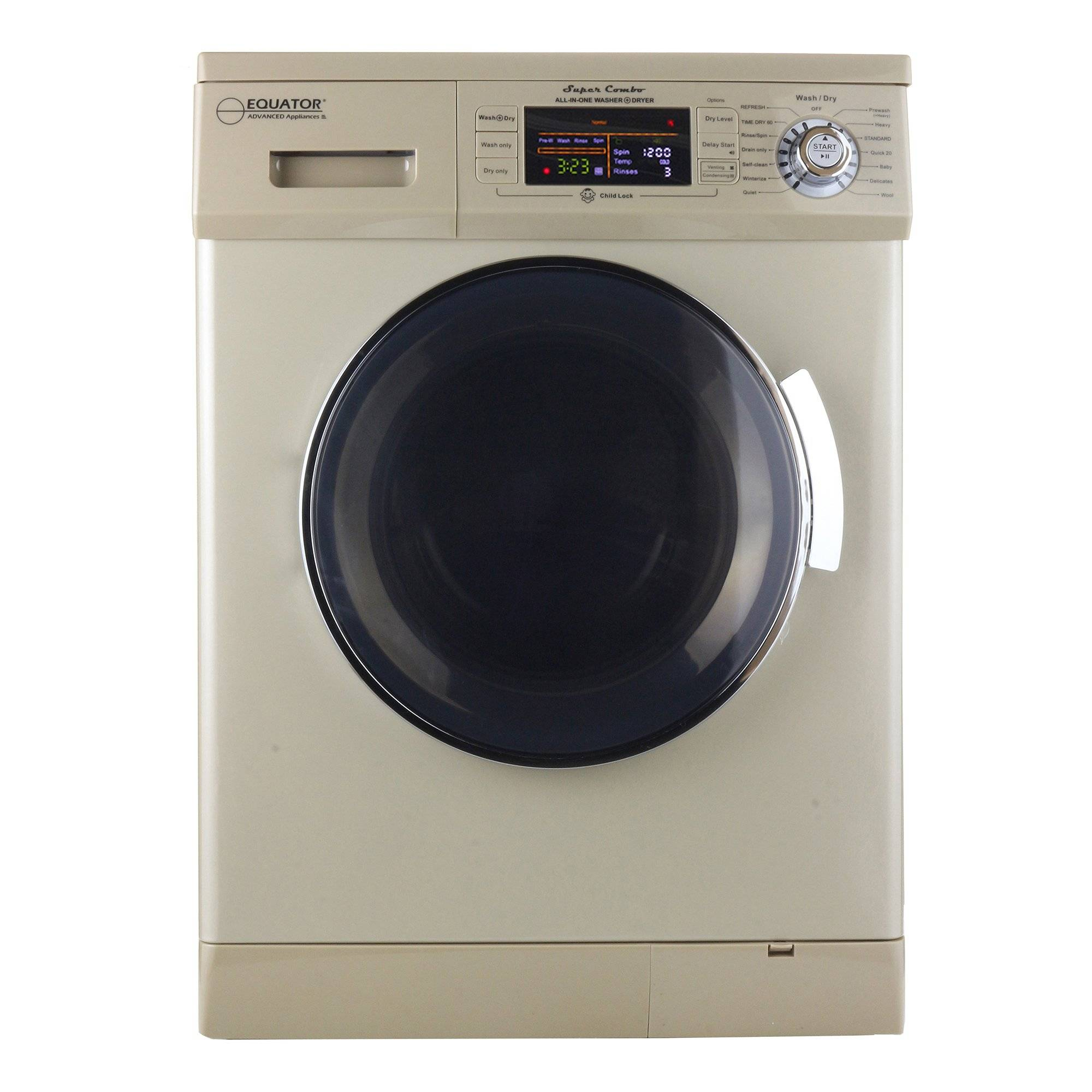 Equator Advanced Appliances Equator EZ4400N Washer/Dryer Combo, Champagne Gold