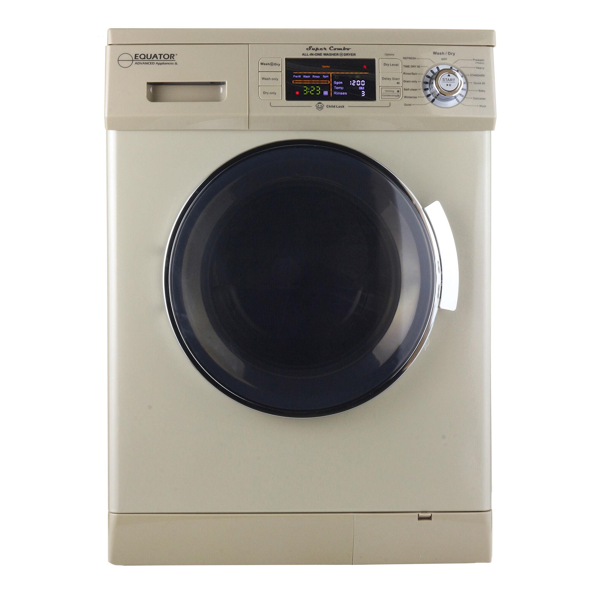 Equator Advanced Appliances Equator EZ4400N Washer/Dryer Combo, Champagne Gold