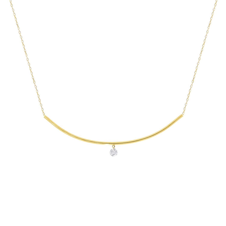 Khoe Jewellery - Emma Diamond Necklace in 18K Yellow Gold