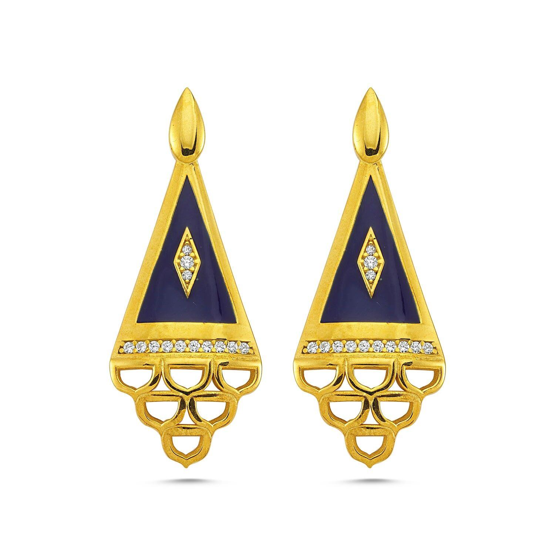 REIAN JEWELLERY - Ottoman Earrrings-Gold