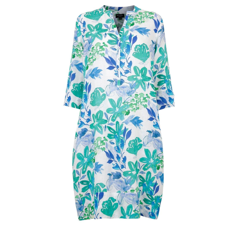 NoLoGo-chic - Kew Gardens Linen Tunic Dress