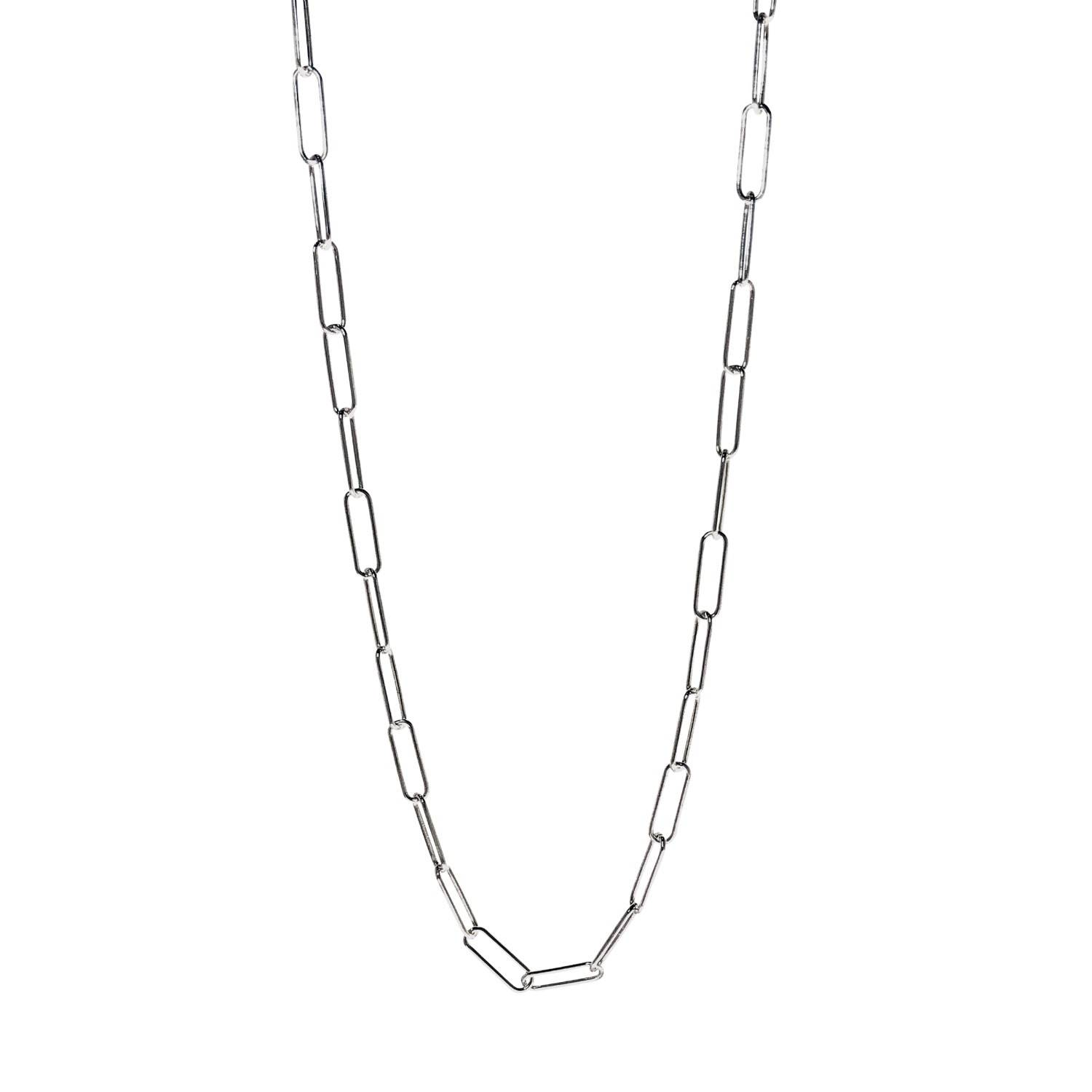 Lucy Ashton Jewellery - Link Chain Necklace Sterling Silver