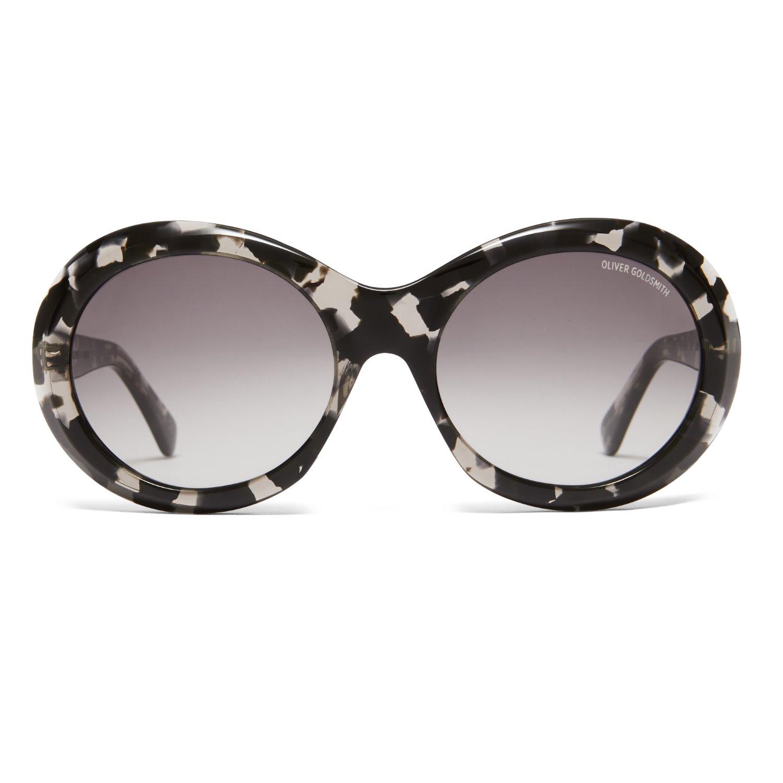 Oliver Goldsmith Sunglasses - Audrey 1963 Black Tortoiseshell